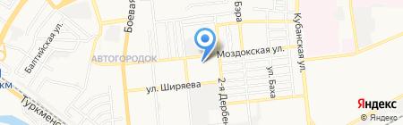 Альфа Эксперт на карте Астрахани