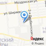 АсМоторс на карте Астрахани