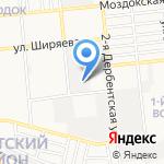 Инсталаб Астрахань на карте Астрахани