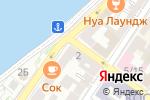Схема проезда до компании Облака в Астрахани