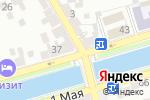 Схема проезда до компании Кредо в Астрахани