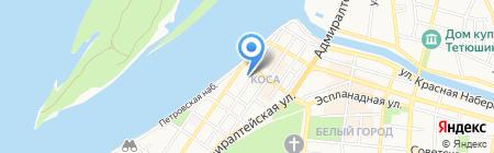 Россельхозбанк на карте Астрахани