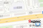 Схема проезда до компании Социальный ломбард+ в Астрахани