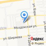 Автогаз на карте Астрахани
