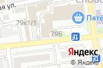 Схема проезда до компании Республика Туризм в Астрахани