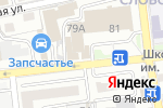 Схема проезда до компании Fabrika в Астрахани