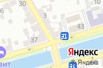 Схема проезда до компании Открытая общеобразовательная школа №1 в Астрахани