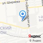 Моторный цех на карте Астрахани