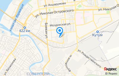 Местоположение на карте пункта техосмотра по адресу г Астрахань, ул Брестская, д 34 стр а
