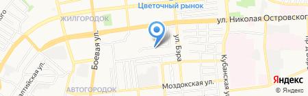 Ника на карте Астрахани