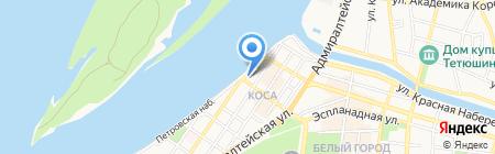Управление по образованию и науке Администрации г. Астрахани на карте Астрахани