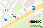 Схема проезда до компании Банкомат, Совкомбанк, ПАО в Астрахани