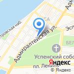 Совкомбанк на карте Астрахани