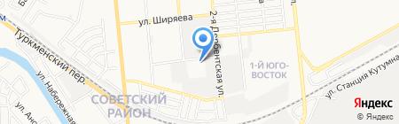 ТрактирЪ на карте Астрахани