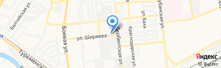 Автомаркет на карте Астрахани