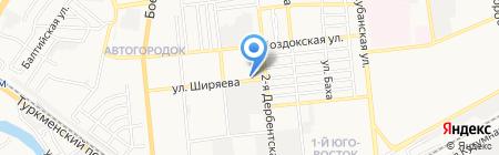 Все для клининга и автомоек на карте Астрахани