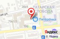 Схема проезда до компании РСК-ЭНЕРГО в Астрахани