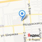 Мастерская кузовных и малярных работ на карте Астрахани