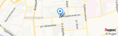 АстраханьТехПром на карте Астрахани