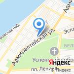Премиум Холл на карте Астрахани