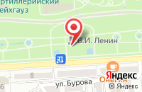Схема проезда до компании ДОКА-ВТК в Астрахани