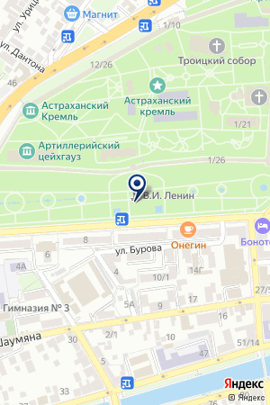 Пожарная охрана на карте Астрахани