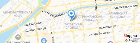 Аристократка на карте Астрахани