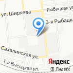 Таганка-Авто на карте Астрахани