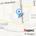 ИНколор на карте Астрахани