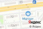 Схема проезда до компании Орхидея в Астрахани