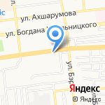 Море продуктов на карте Астрахани