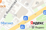 Схема проезда до компании DIAMOND в Астрахани