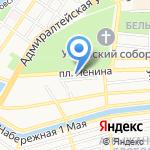 ВСК на карте Астрахани