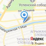 Кировский районный суд г. Астрахани на карте Астрахани