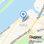 Окружной военно-клинический госпиталь на карте Астрахани