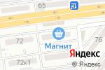 Схема проезда до компании Альфа Компьютер в Астрахани