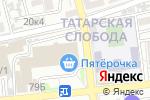 Схема проезда до компании Абсолют-А в Астрахани