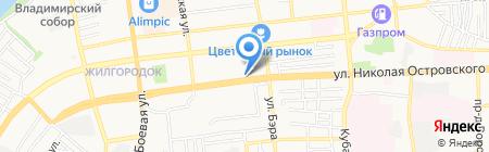 Мир шурупов на карте Астрахани