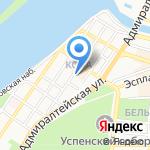 БСТ на карте Астрахани