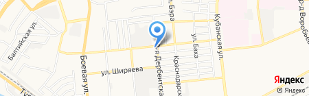 Винтаж bar and Grill на карте Астрахани