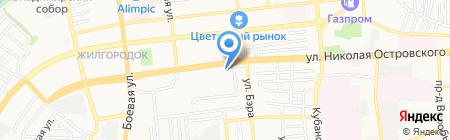 Орхидея на карте Астрахани
