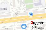 Схема проезда до компании Ателье №7 в Астрахани