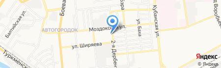 Энергия на карте Астрахани