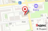 Схема проезда до компании МИЭП в Астрахани