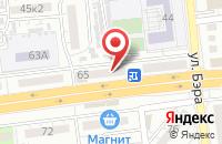 Схема проезда до компании АкВаЛэнд в Астрахани