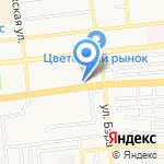 Аллегро на карте Астрахани