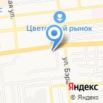 Асдент на карте Астрахани