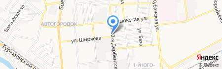 Агентство недвижимости Соловьевой на карте Астрахани