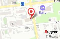 Схема проезда до компании Копировальный центр в Астрахани