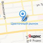 Студия Красоты Ани Каверкиной на карте Астрахани
